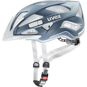 UVEX City Active - Casco de bicicleta - azul